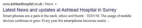 Smartphones pain in neck Ashtead.JPG