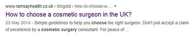 How to choose a plastic surgeon seacrh f