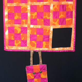 Hang in there - Hot pink and orange