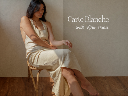 Carte Blanche with Kimi Juan