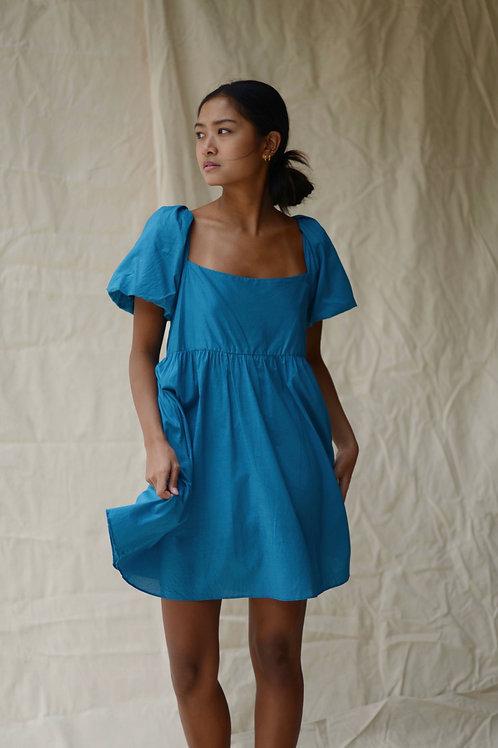 Terno Scoop Dress Teal