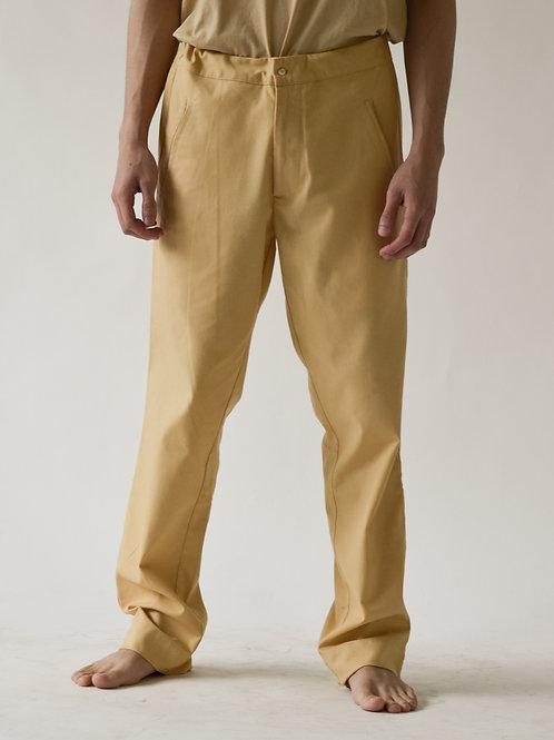 Men's Pull-up Pants Sand