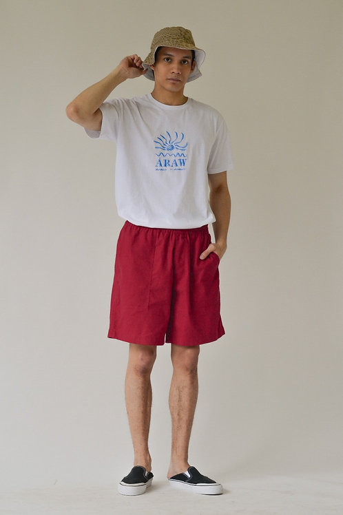 Men's Patch Pocket Shorts Cherry