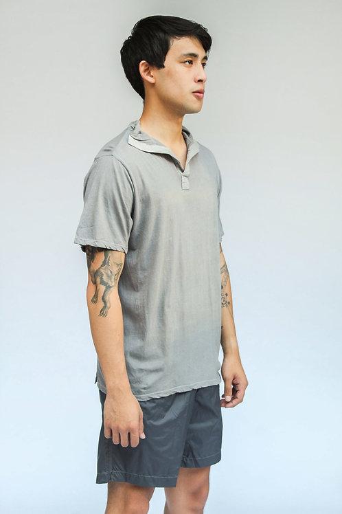 Eairth Yakan Polo Shirt Steel