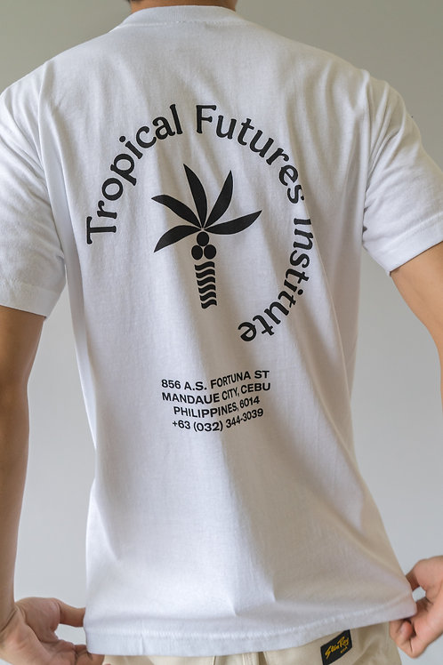 Tropical Futures SS Logo T-Shirt White