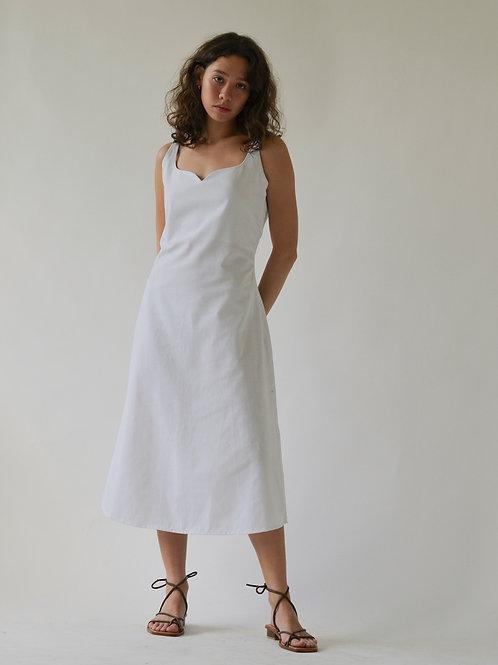 Sinta Dress White (pre-order)