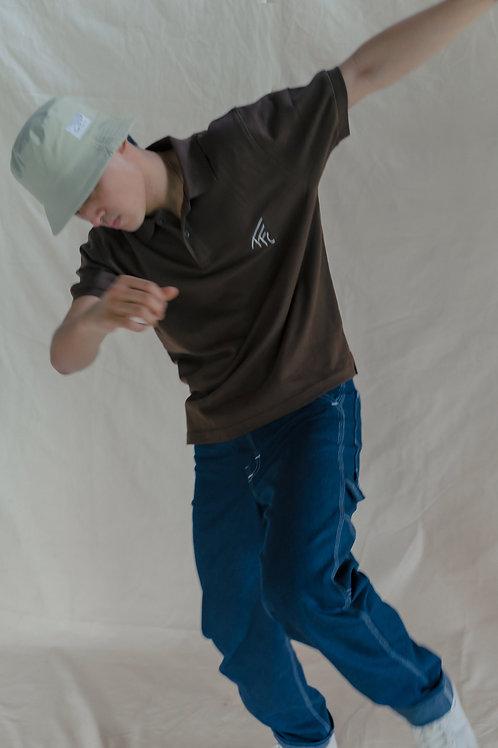TFC Men's Polo Shirt Brown