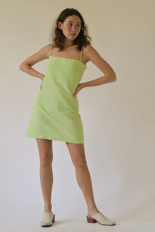 Binakol Presko Shift Dress Lime (pre-order)
