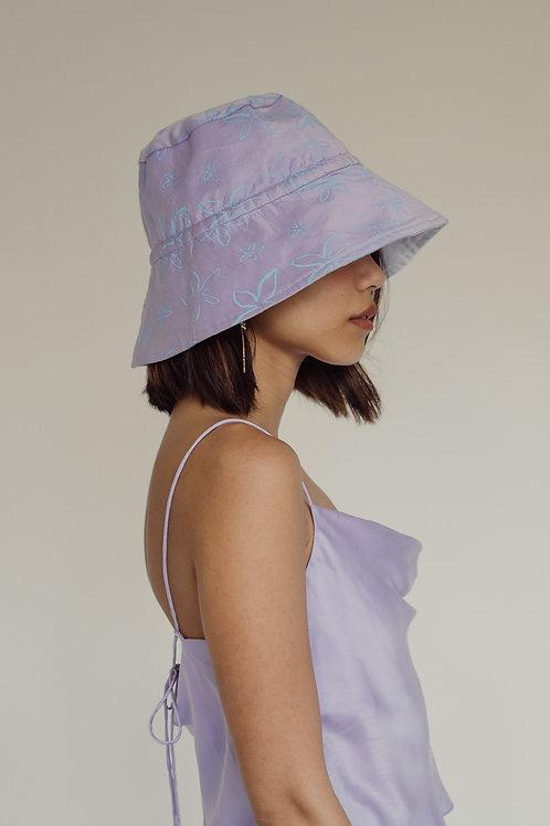 Sampaguita Reversible Sun Hat Lilac (pre-order)