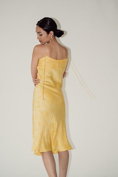 Kaibigan Slip Dress Yellow