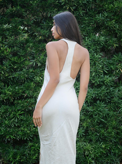 Melfi Maxi Dress Capiz (pre-order)