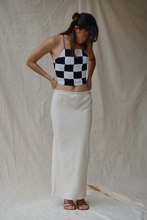 Bias Maxi Skirt Capiz