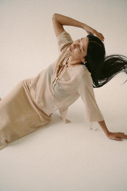 Kostüm V Dice Linen Blouse