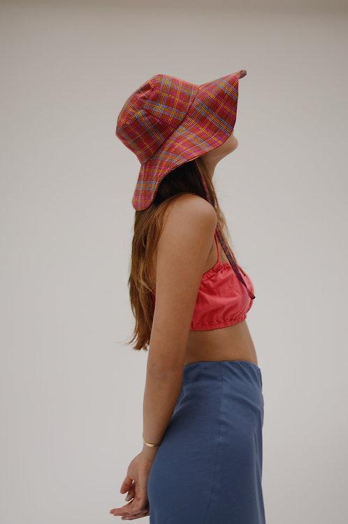 La Pirata Summer Hat Red