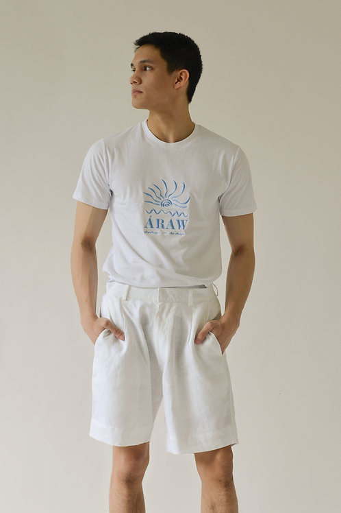 Áraw Men's Turista T-Shirt White