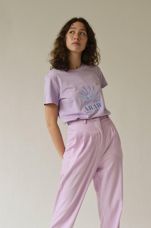 Áraw Women's Turista T-Shirt Lilac