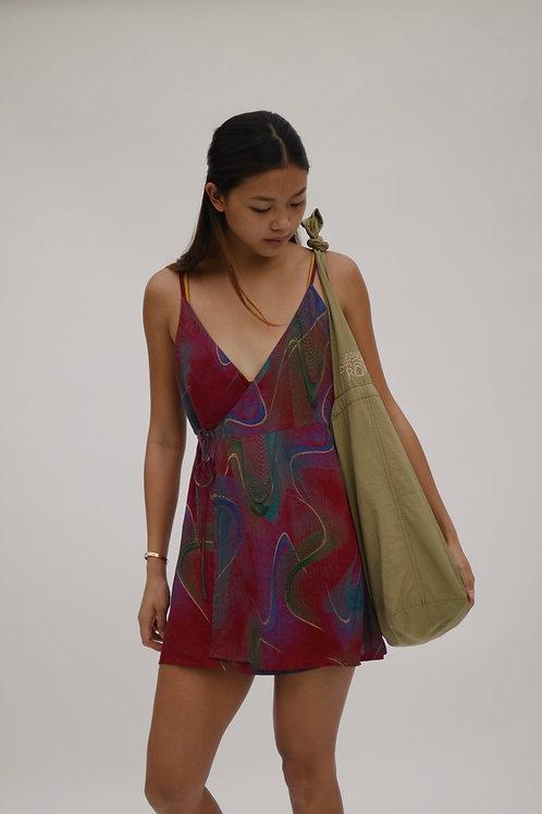 Tropa Women's Warp Wrap Dress