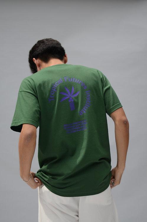 Tropical Futures SS Logo T-Shirt Forest Green