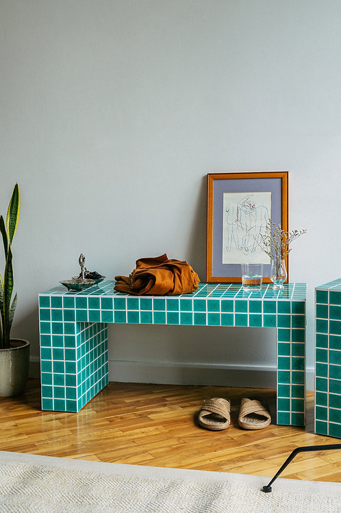 Tropa Tiled Bench Water (pre-order)