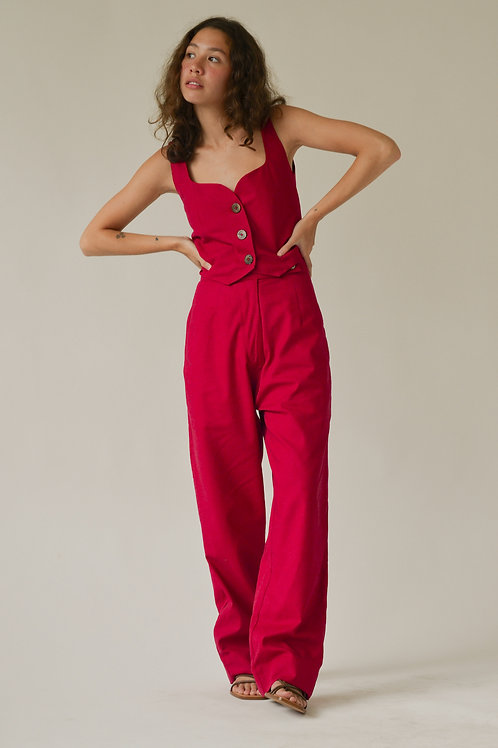 Liso Trousers Cherry (pre-order)