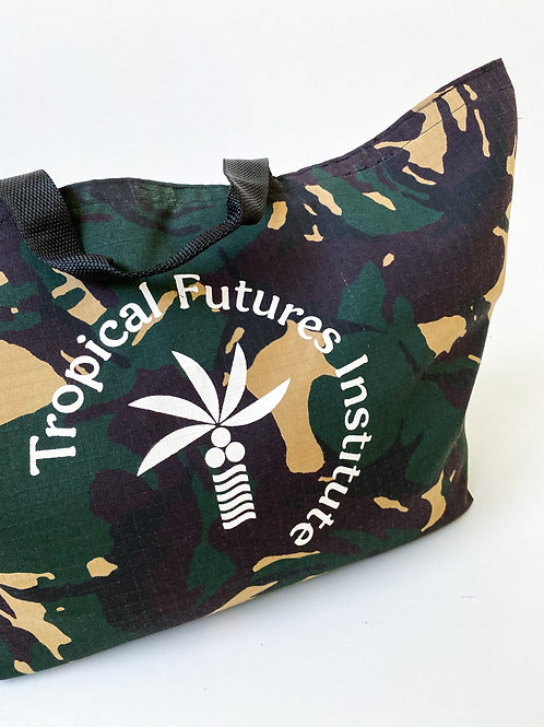 Tropical Futures Camo Ripstop Tote
