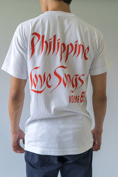 Tropical Futures SS Philippine Love Songs Vol 69 White