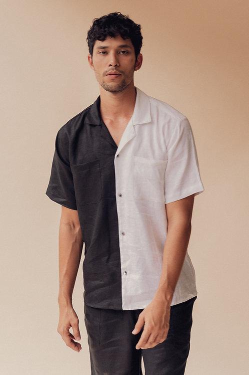 Men's Split Camp Collar Shirt (pre-order)
