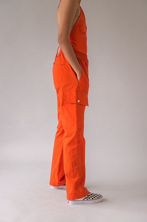 Tropa Cargo Pants Blood Orange