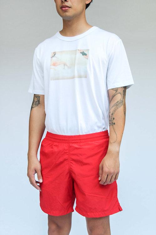 Tropa Swim Trunks Red