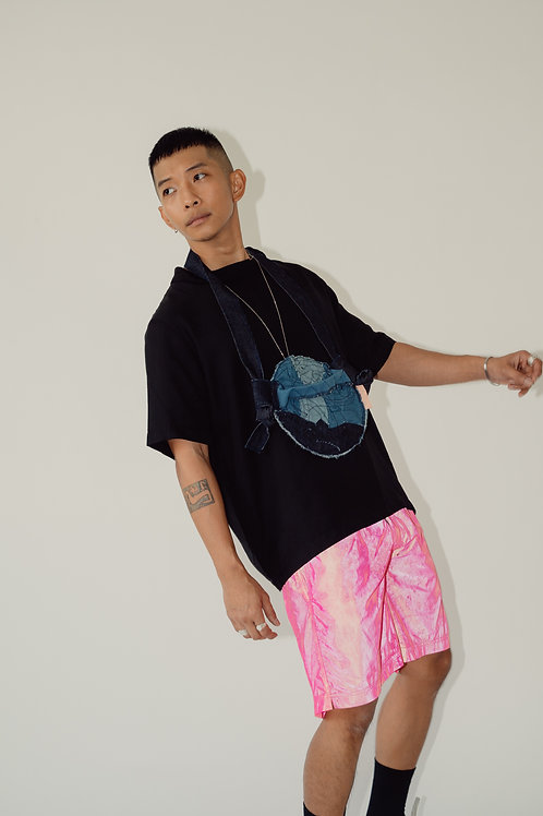 Tropa Reflective Swim Shorts Pink