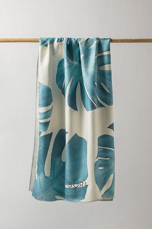 Sora Monstera Towel