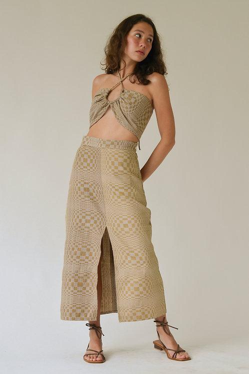 Binakol Slit Skirt Dune (pre-order)