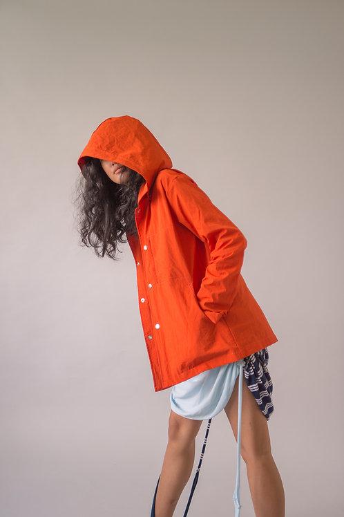 Tropa Rain Jacket Blood Orange