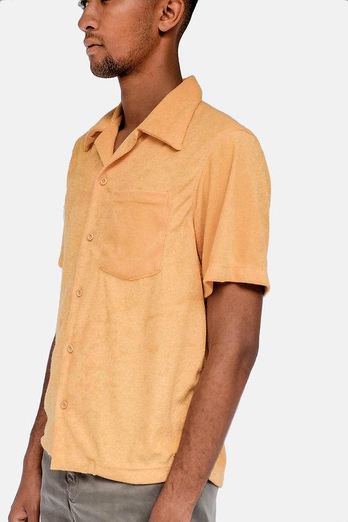 Tropa Terry Hawaiian Shirt Marigold