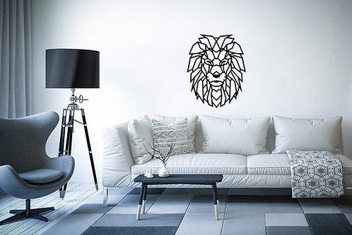 Puzzle de décoration de maison de lion
