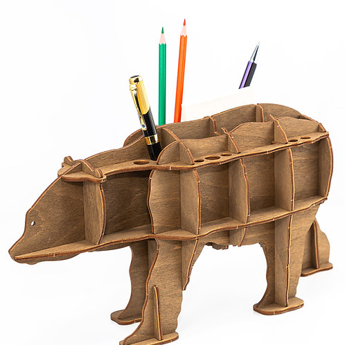 Bear Organizer (Brown)