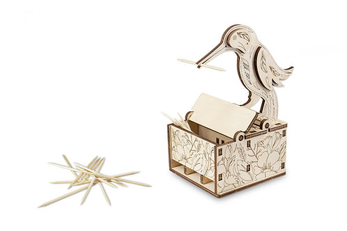 Bird Toothpick Dispenser Kit
