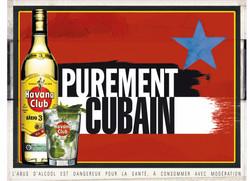 Affichage International Havana Club