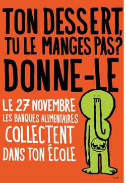 Affichage // Banque Alimentaire
