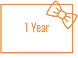 1 year membership: 4+ kids