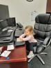 Ryan's daughter hard at work.