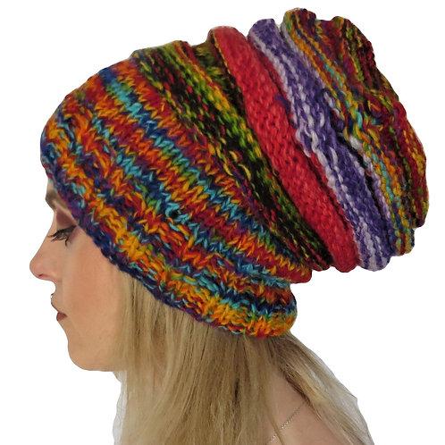 Women's Slouchy Beanie Wool Hat