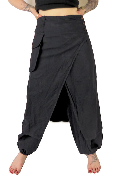 Double Layer Trousers (Large sizing) (Available in 2 colours)