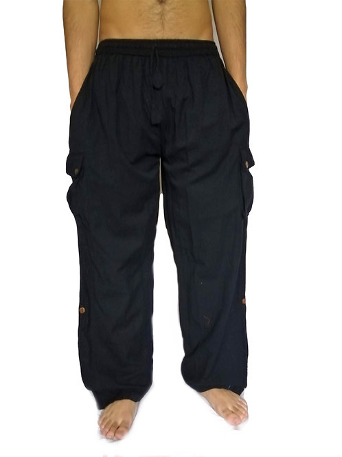 Soft Cotton Box Pocket Trousers