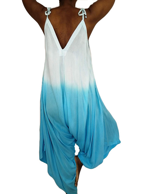 Three Dye Soft Rayon Jumpsuit (In 3 Colours)