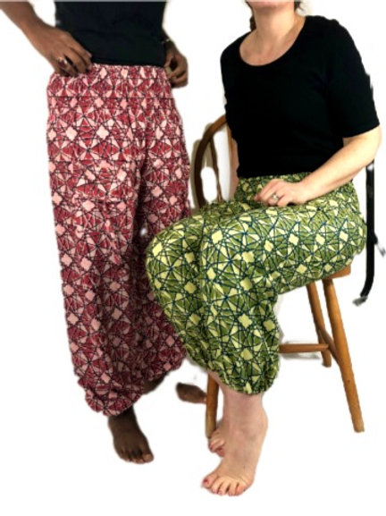 Abstract Print Natan Trousers