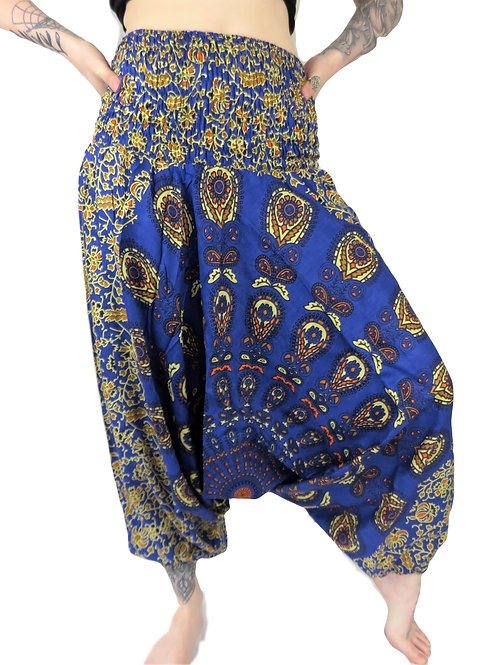 Bagru Afghan Trousers (Available in 2 colours)