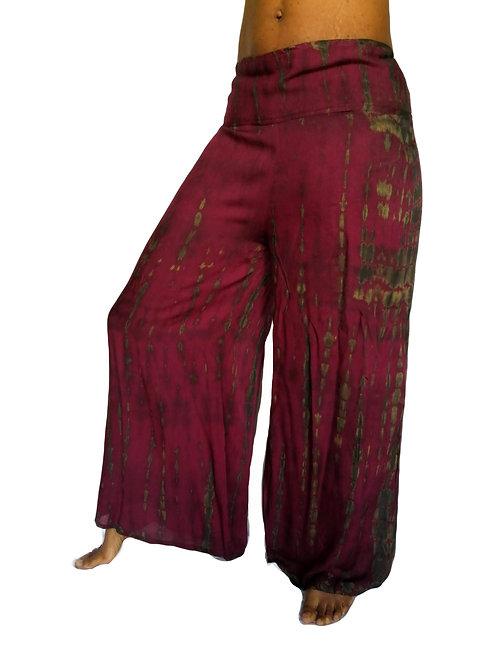 Monty Tie Dye Flared Trousers (in 3 Colours