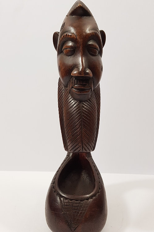 Man and Woman Spoon Figures Ivory Coast