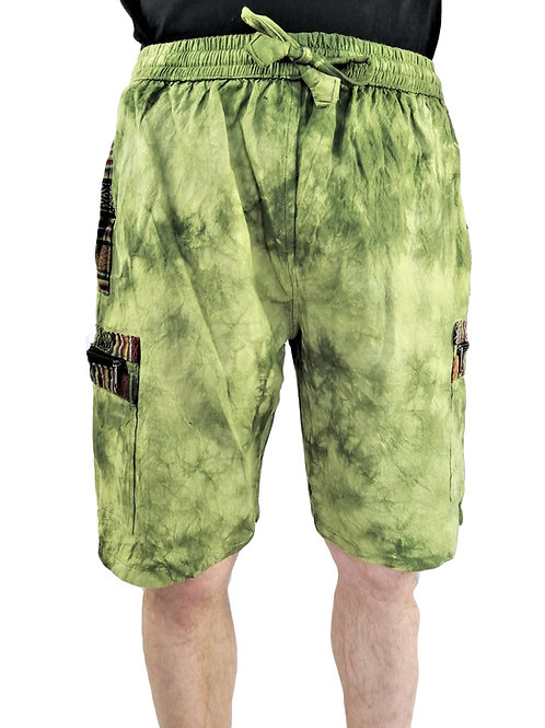 Tie Dye with Trim Shorts (In 2 Colours)